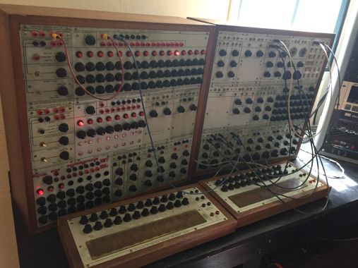 Buchla at Mills, July 2016